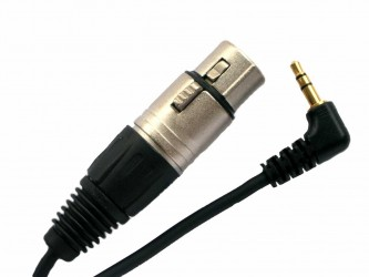 3 pin female XLR to 3.5mm plug