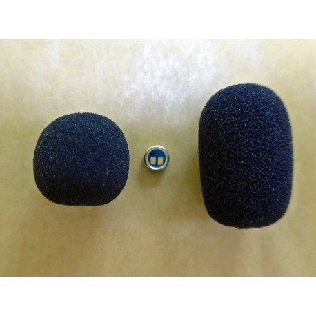 Foam Windshield for 5 mm microphones