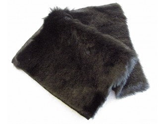 Rycote DIY Kit, Black Mini Windjammer short Fur, Lining & Velcro