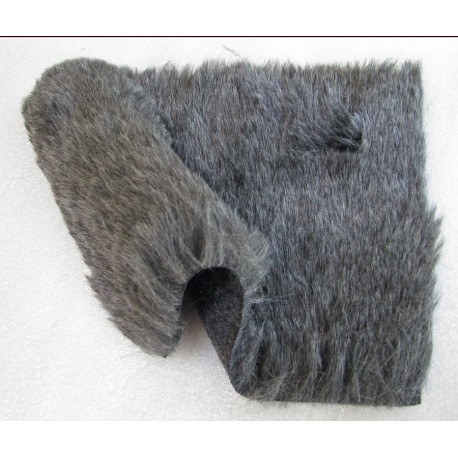 Rycote DIY Windjammer Kit, Grey Softie Fur.