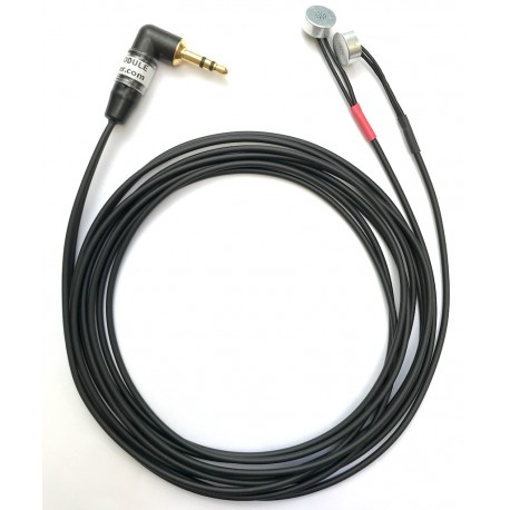 Stereo Primo EM172 module, 3.5 mm right angle plug, 1.5 m Mogami thin cable
