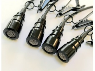 4 Matched Clippy XLR EM172 Microphone, Type B