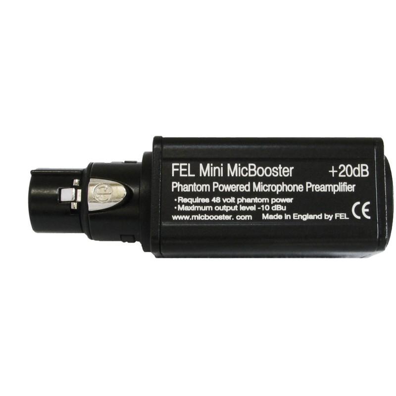 FEL Mini MicBooster Preamp - micbooster com