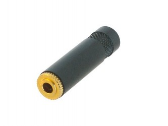 Neutrik 3.5 mm stereo line jack socket