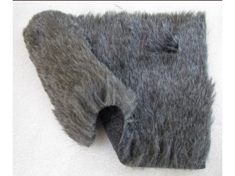 Rycote DIY Kit with Dark Grey Fur, Lining & Velcro