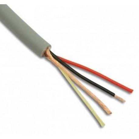 Mic Cable, 4.6 mm, Grey, per metre