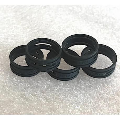 NEUTRIK XXR-0 XLR CODING RING Black, pack of 5 pieces