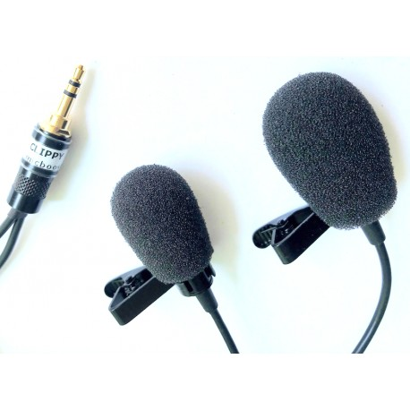 Rycote Foam Windshields Large & Small on Clippy (Clippy is not included)