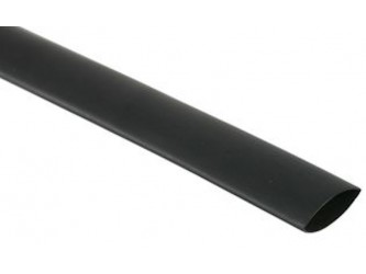 9.5 mm Black Heatshrink, 20 cm